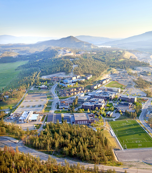 Okanagan Campus Aerial Photo